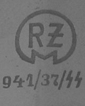 1936-1942: RZM M7/941 SS code assigned to Carl Eickhorn